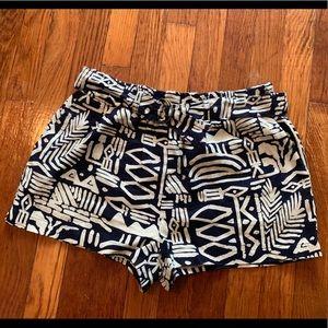 Forever 21 shorts s small blue white summer